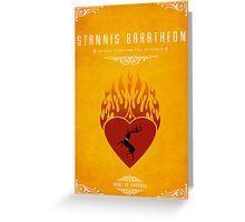 Stannis Baratheon Personal Sigil Greeting Card