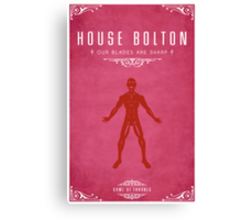 House Bolton Canvas Print