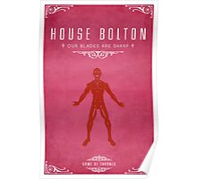 House Bolton Poster