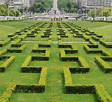 Eduardo VII park in Lisbon by luissantos84