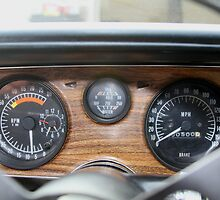 Dash gauges, car running by devinhouston