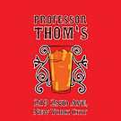 Professor Thoms iPhone Case-1 by SimpleSimonGD