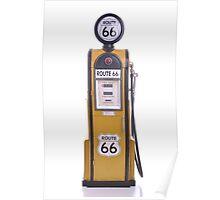 Antique fuel pump Poster
