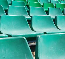 Stadium green seats by luissantos84