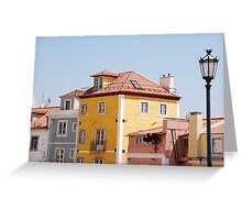Lisbon´s architecture Greeting Card