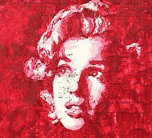 Marilyn_Purple by HaviSchanz