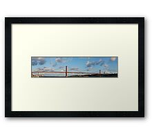 25th April bridge in Lisbon Framed Print