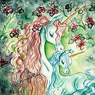 Mother & Baby Unicorn by AngelArtiste