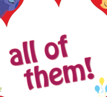 I have a crush on... all of them! - 1.1 Sticker