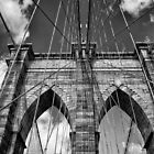 Brooklyn Bridge by Euge  Sabo