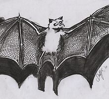 VERNON THE FRUIT BAT by dallys