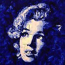 Marilyn_Blue by HaviSchanz