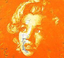 Marilyn_Orange by HaviSchanz