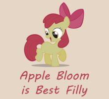Best Filly Apple Bloom by FeralSocks
