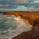 Pondalowie Bay Yorke Peninsula South Oz by sean burke