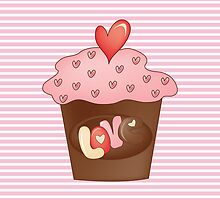 Cupcake love by favoritedarknes