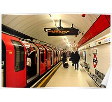 Liverpool Street - Central Line Poster