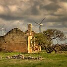 The Windfarm - South Australia by Hans Kawitzki