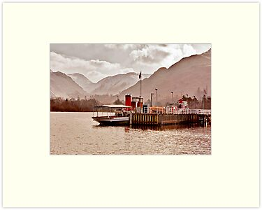 Ullswater Steamer by Trevor Kersley