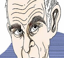 Vince Cable Cartoon Caricature by Grant Wilson