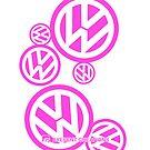Volkswagen Pink by axesent