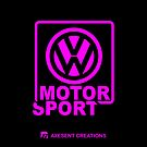 VW Motorsport pink by axesent