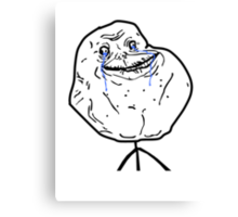 Forever Alone (HD) Canvas Print