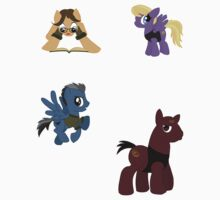 Tiny Stargate Pony Stickers by Nana Leonti