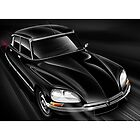 Citroen DS 'AT SPEED 2 ' Illustration by Autographics