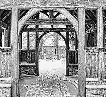 St Nicholas, Pluckley - Through The Lychgate by Dave Godden