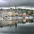 Honfleur  Harbour (6) Reflecting by cullodenmist