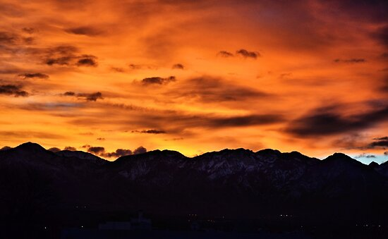 Wasatch Sunrise by J. D. Adsit