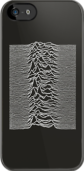 Unknown Pleasures - Joy Division white by jipvankuijk
