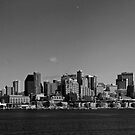 Seattle, Washington Skyline from Puget Sound by North22Gallery