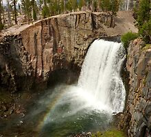 Rainbow Falls, Devils Postpile National Monument by Ross Campbell