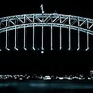 Sydney Harbour Bridge and Opera House by Andrew  MCKENZIE