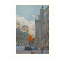 St. Petersburg, Russia, Austria Square  Art Print
