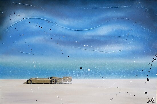 Golden Arrow Painting by Richard Yeomans