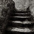 Stairway, The Sassi Quarter, Matera, Italy by Andrew Jones