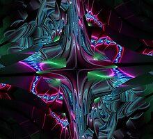 Liquid Neon by James Brotherton