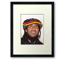 Down Here In Jamaica - Aqui En Jamaica Framed Print