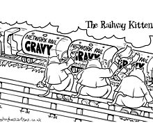 The Railway Kittens by Alex Hughes