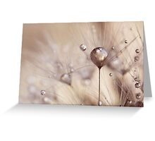 a touch of gold Greeting Card