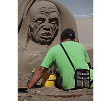 Sand Artwork - Arte De Arena Photographic Print