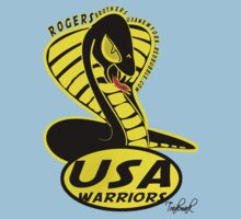 usa warriors snake by rogers bros  by usanewyork