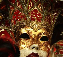 The mask of Venice by Panayotis