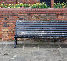 Sidewalk bench by luissantos84