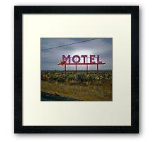 motel 2 Framed Print