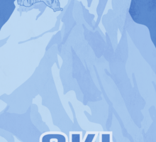 Ski Hrothgar Sticker