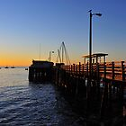 Avila Pier Sunrise by Richard  Leon